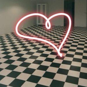 Ihana shakkilattia Verstas247:n tilassa Toisella linjalla