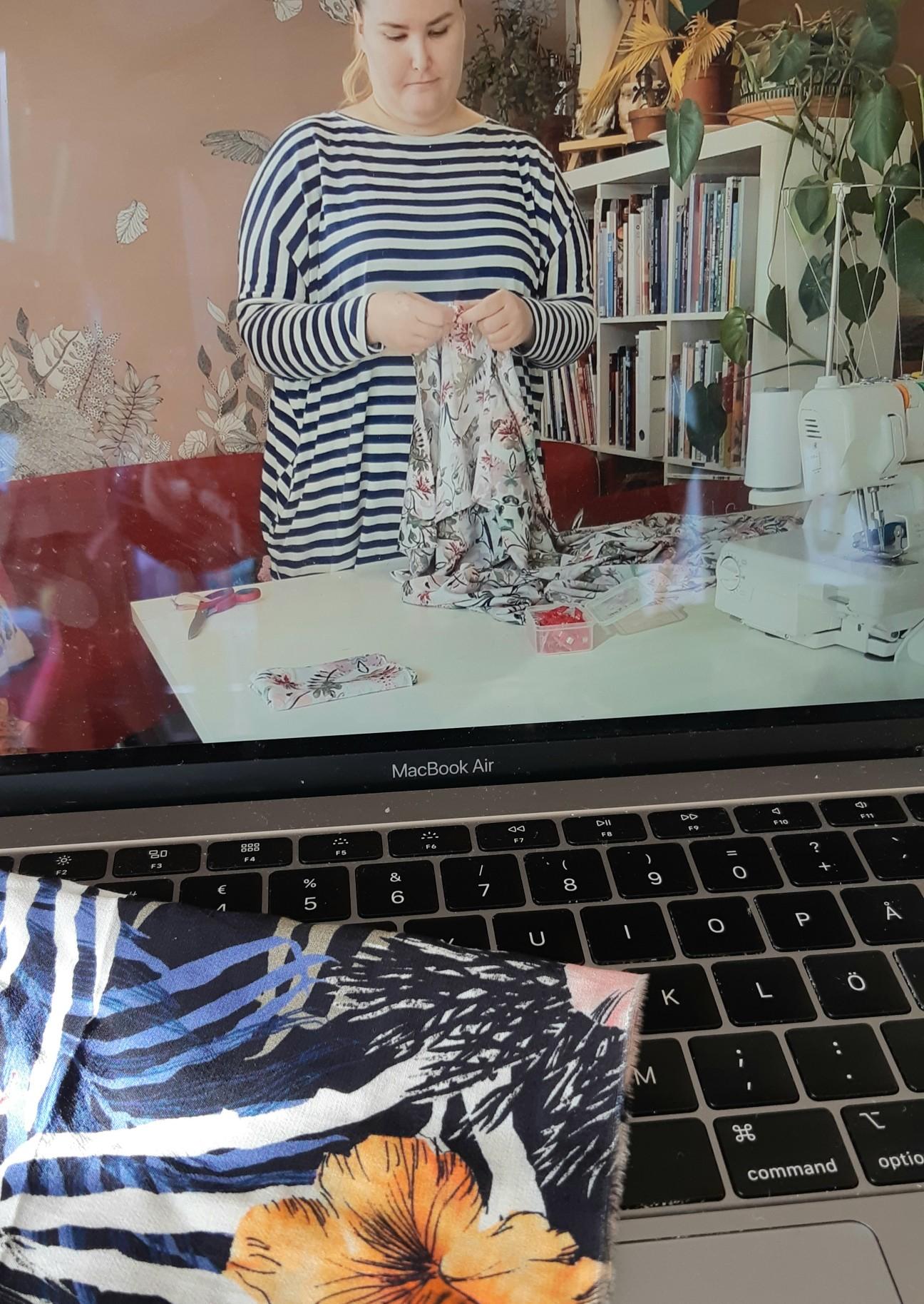 kuva ompelukurssista